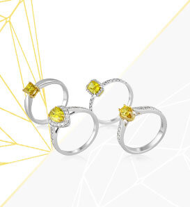 Yellow<br />diamonds